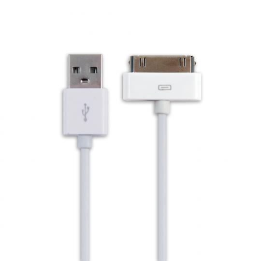 Кабель USB2.0-30pin Apple, 1м, белый Belsis