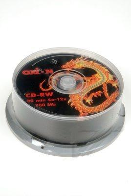 Диск OXION CD-RW Dragon (25)